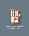 Double Hung Colonial Grilles